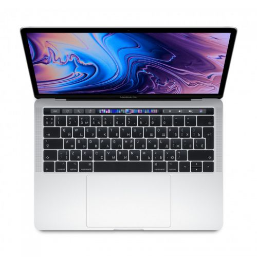 Ноутбук Apple MacBook Pro 13 with Retina display and Touch Bar Mid 2019 (MV9A2 Silver 512GB)