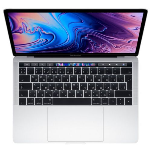 Ноутбук Apple MacBook Pro 13 with Retina display and Touch Bar Mid 2019 (MV992 Silver 256GB)